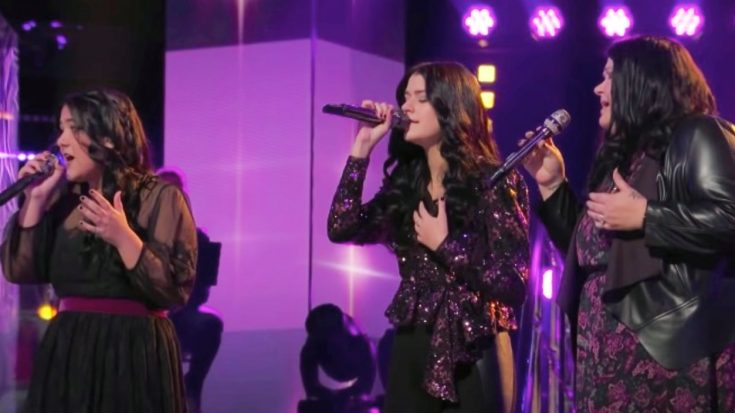 """""""Voice"""" Trio Worth The Wait Eliminated After Singing Martina McBride's """"I'm Gonna Love You Through It"""" 
