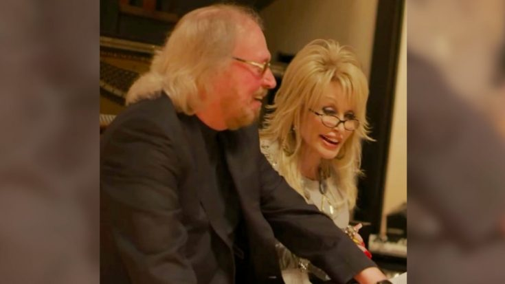 Bee Gees' Barry Gibb Describes Reunion With Dolly Parton After Nearly 40 Years | Classic Country Music Videos