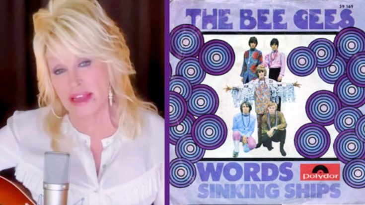 """Dolly Parton & Barry Gibb Create New Version Of Bee Gees' """"Words""""   Classic Country Music Videos"""