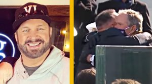 Fans Respond After Garth Brooks Hugs Former Presidents At Inauguration