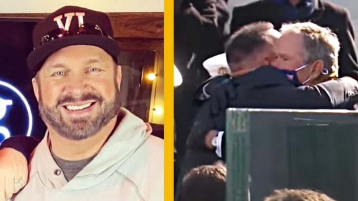 Fans Respond After Garth Brooks Hugs Former Presidents At Inauguration | Classic Country Music Videos