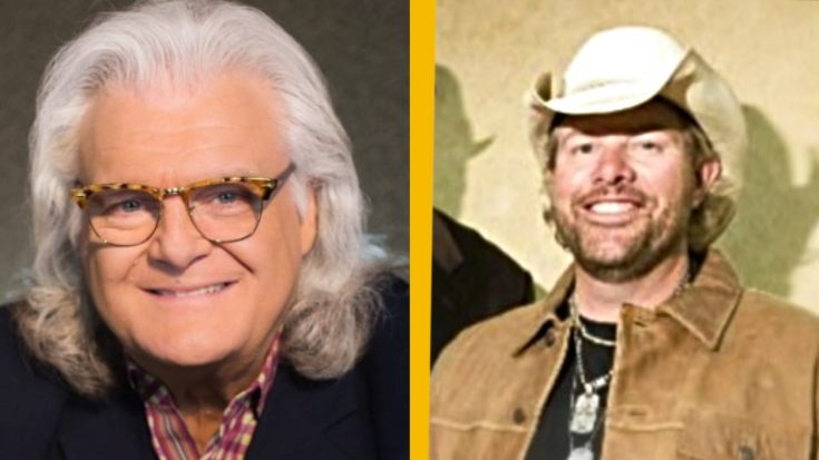 President Trump Gives National Medal Of Arts To Toby Keith & Ricky Skaggs