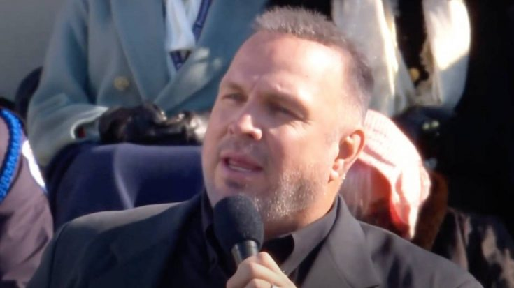 """Garth Brooks Sings """"Amazing Grace"""" At President Biden's Inauguration 