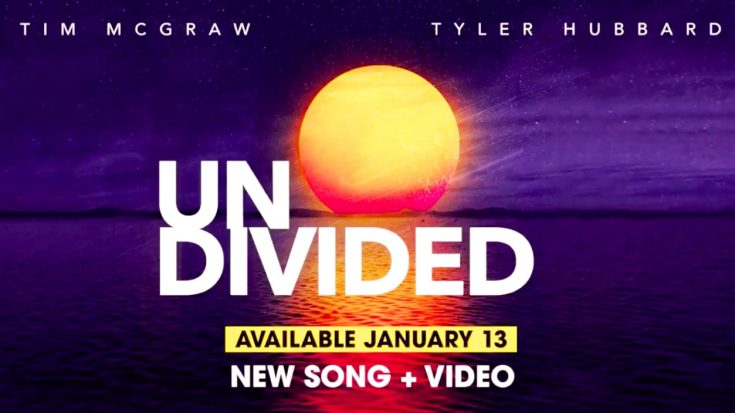 """Tim McGraw Releasing New Song, """"Undivided,"""" On January 13 