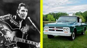 Elvis Presley's 1967 GMC Pickup For Sale