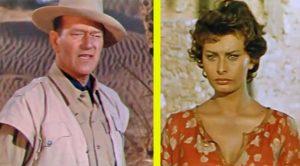 Actress Sophia Loren Recalls Working With John Wayne