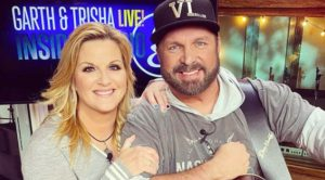 "Trisha Yearwood Is Going ""Nuts"" Over The Way Garth Brooks Whistles"