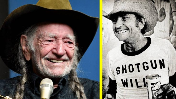 "Willie Nelson Shares How He Got His Nickname ""Shotgun Willie"" 