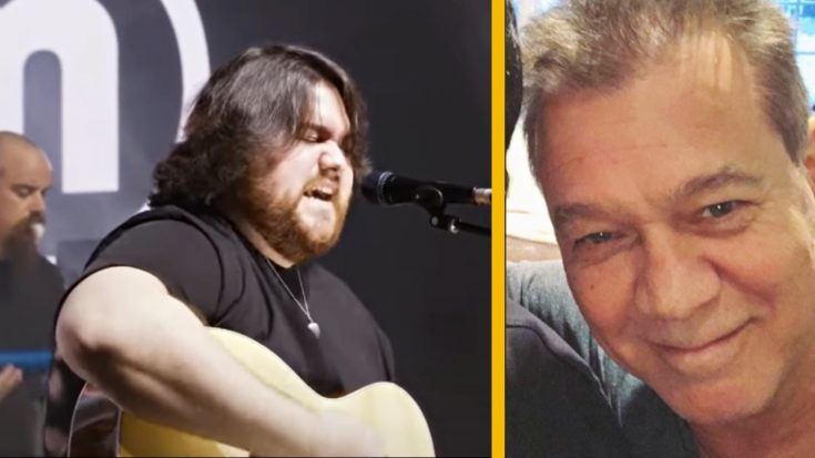 Wolfgang Van Halen Performs Acoustic Tribute For His Late Father Eddie Van Halen | Classic Country Music Videos