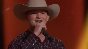 17-Year-Old 'Tender Cowboy' Lands On Team Blake With 'You Look So Good In Love' Cover