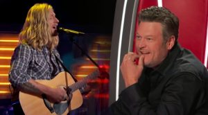"""""""Voice"""" Hopeful's Keith Whitley Cover """"Started Off Kinda Shaky,"""" Then He Got 3 Chairs To Turn"""