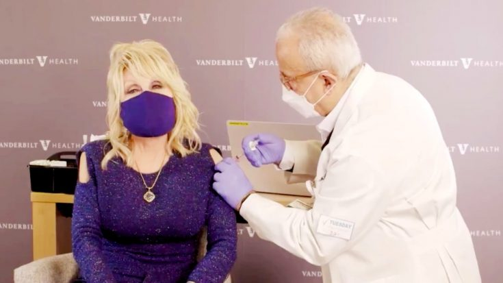 Dolly Parton Receives COVID-19 Vaccine | Classic Country Music Videos