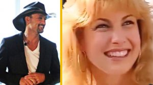 Tim McGraw Shares '90s Video Footage Of Wife Faith Hill