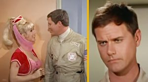 "Why Larry Hagman Called This ""I Dream Of Jeannie"" Scene  ""Mortifying"""