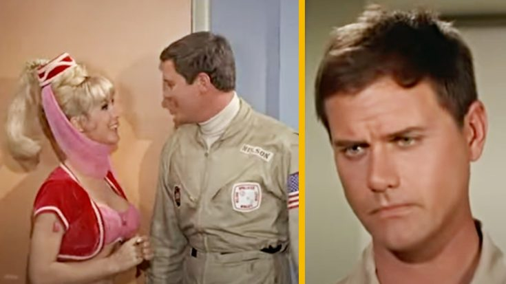 "Why Larry Hagman Called This ""I Dream Of Jeannie"" Scene  ""Mortifying"" 