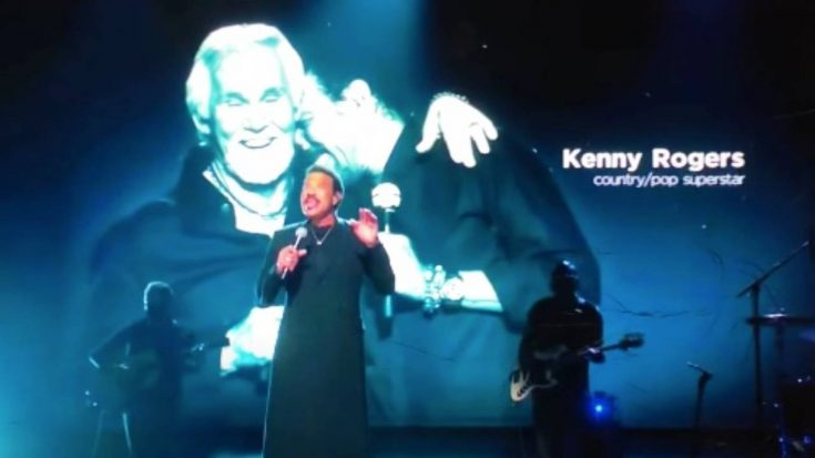 Kenny Rogers' Team Responds To Lionel Richie's Grammy Tribute