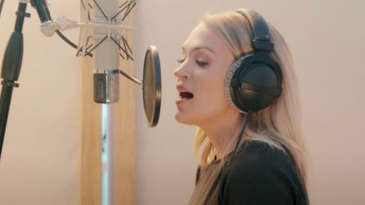 """Carrie Underwood Celebrates 38th Birthday by Releasing """"Nothing But the Blood of Jesus"""" from Upcoming Gospel Album"""