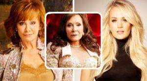 "Carrie Underwood & Reba McEntire Sing With Loretta Lynn On New Song, ""Still Woman Enough"""