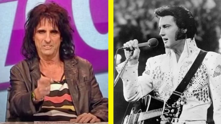 Alice Cooper Once Pointed A Loaded Gun At Elvis Presley | Classic Country Music Videos