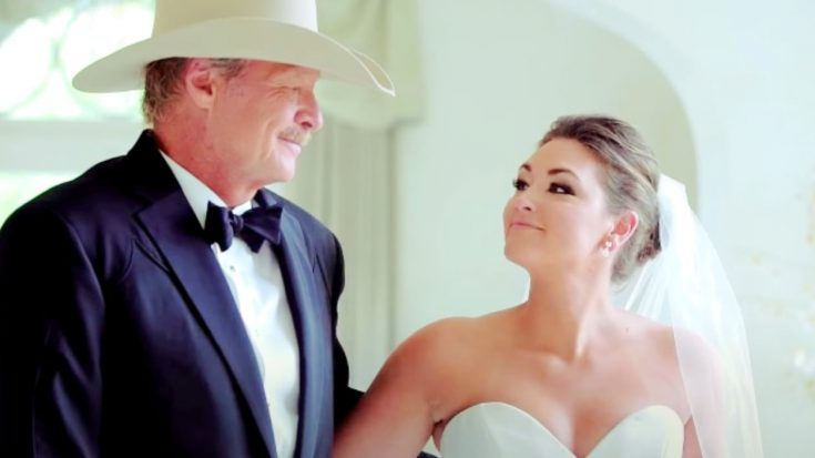 Alan Jackson Releases New Song He Wrote For Daughters' Weddings   Classic Country Music Videos