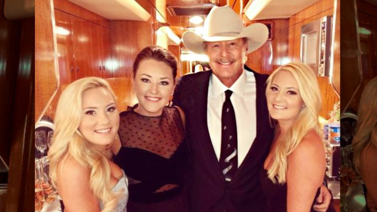 """Alan Jackson's Daughters Featured In New Video For """"You'll Always Be My Baby"""" 