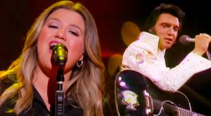 """Kelly Clarkson Puts Her Spin On Elvis' """"Burning Love"""""""