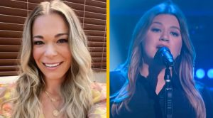 "Kelly Clarkson Yodels LeAnn Rimes' ""Blue"" During Show"