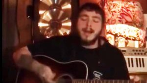 """Rapper Post Malone Pays Tribute To The Hanks With """"There's A Tear In My Beer"""""""