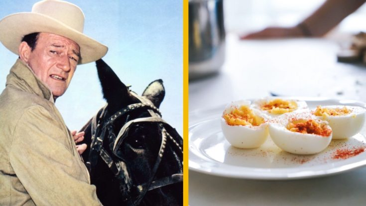 How To Make John Wayne's 5-Ingredient BBQ Deviled Eggs | Classic Country Music Videos