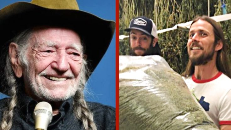 Willie Nelson's Son Lukas Shows Off 'Stash' From Willie's Reserve | Classic Country Music Videos
