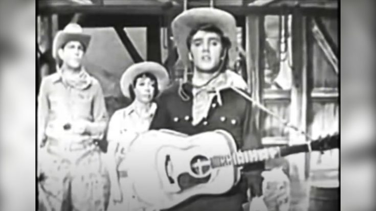 Andy Griffith & Elvis Presley Did A Cowboy Comedy Skit Together In 1956 | Classic Country Music Videos