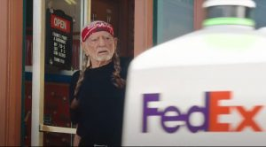 Willie Nelson Makes Cameo In New FedEx Commercial