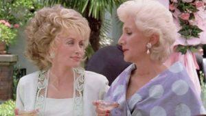 "Dolly Parton Mourns ""Steel Magnolias"" Co-Star Olympia Dukakis"