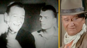 Hear The Advice John Wayne Got From His Son In 1950s Ad