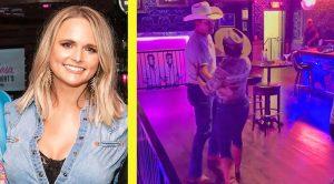 """Miranda Lambert & Jon Pardi Dance To George Strait's """"Check Yes Or No"""""""