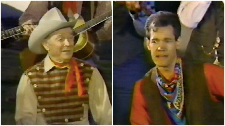 """Randy Travis Teams Up With Roy Rogers To Sing """"Happy Trails"""" 