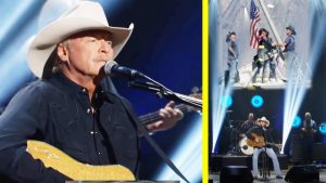 """Alan Jackson Gives Emotional Performance Of """"Where Were You"""" For Memorial Day Concert"""