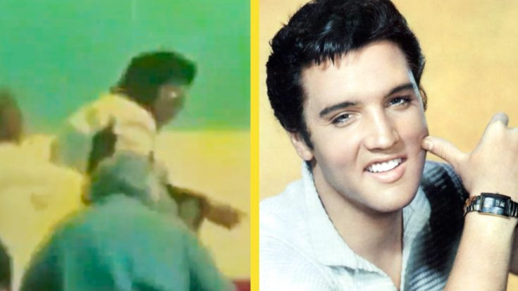 Rare Clip Of Elvis Resurfaces From The Year Before His Death | Classic Country Music Videos