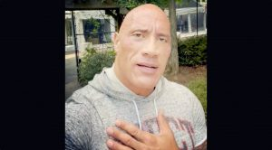 """""""The Rock"""" Sings Garth Brooks Song In Video For Woman Fighting Cancer"""