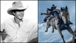 Chris LeDoux Honored With 'Larger Than Life' Statue In Cheyenne