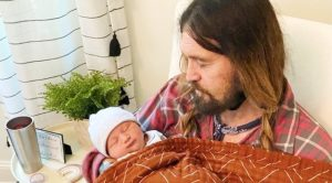Billy Ray Cyrus Posts First Photo With Newborn Grandson