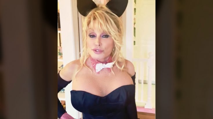 Dolly Parton Wears Bunny Suit For Husband's Birthday Surprise   Classic Country Music Videos