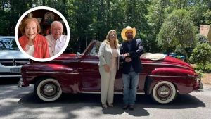 Garth Brooks, Trisha Yearwood Gifted Jimmy Carter And Wife A Classic Car For Anniversary