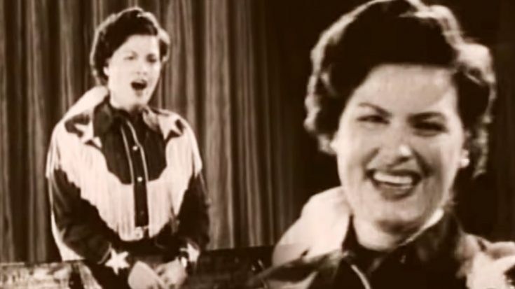 """Video Resurfaces Of Patsy Cline Singing """"Lovesick Blues"""""""