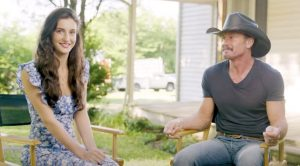 Go Behind The Scenes Of Tim McGraw's New Music Video With His Daughter
