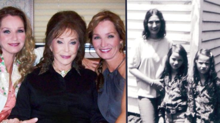 Loretta Lynn Shares Old Photos With Twin Daughters To Celebrate Their Birthday   Classic Country Music Videos