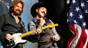 """Brooks & Dunn's 2001 Music Video For """"Only In America"""""""