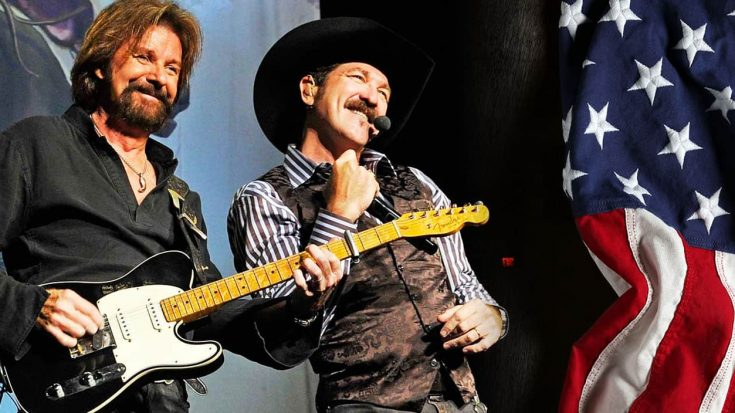 """Brooks & Dunn's 2001 Music Video For """"Only In America"""" 