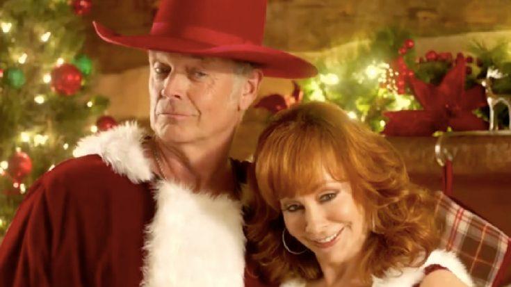 Reba McEntire Shares Sneak Peek Of New Christmas Movie With John Schneider   Classic Country Music Videos