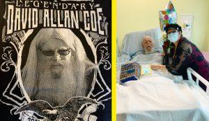82-Year-Old David Allan Coe Beats COVID-19 After Hospitalization